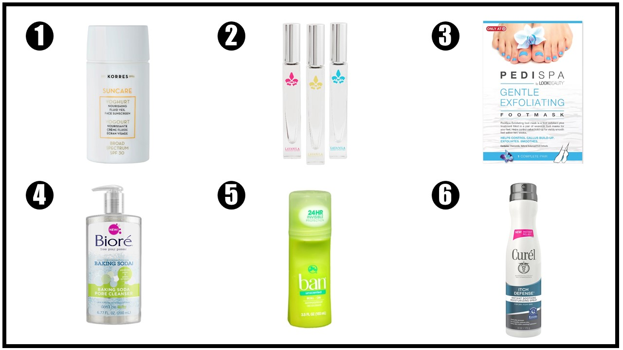 Spring Break Beauty Survival Kit   via  www.productreviewmom.com