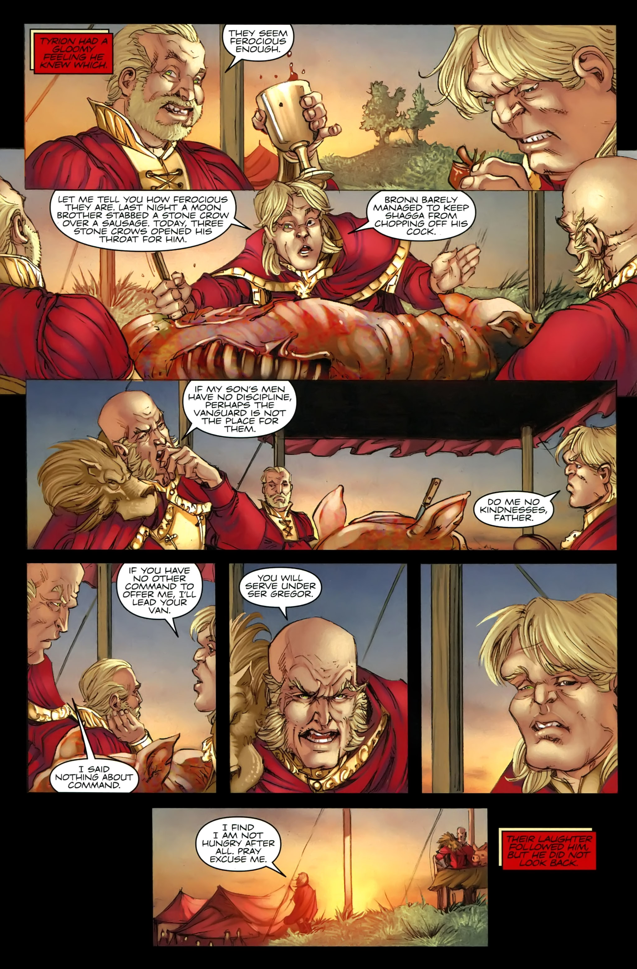 Read online A Game Of Thrones comic -  Issue #21 - 4