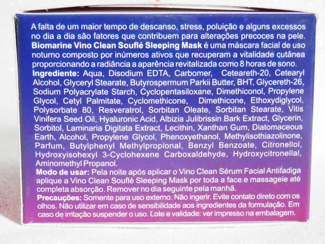 máscara detox biomarine