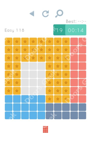 Cheats, Walkthrough for Blocks and Shapes Level 118