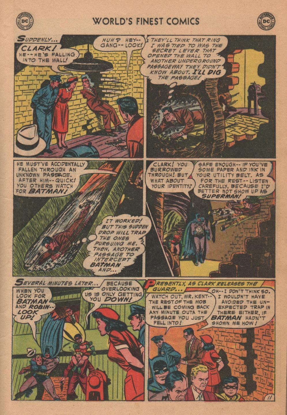 Read online World's Finest Comics comic -  Issue #72 - 13