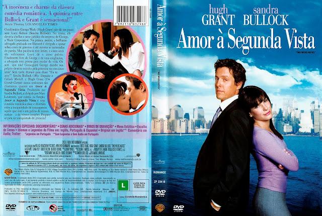 Capa DVD Amor à Segunda Vista