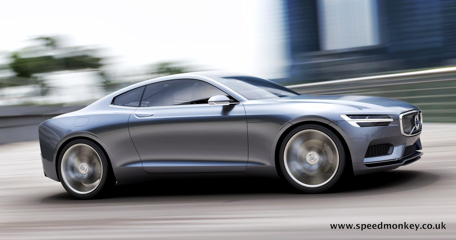 Speedmonkey Volvo Concept Coupe  The New P1800