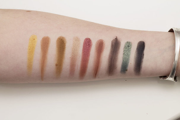 Violet Voss x Laura Lee eyeshadow palette swatches
