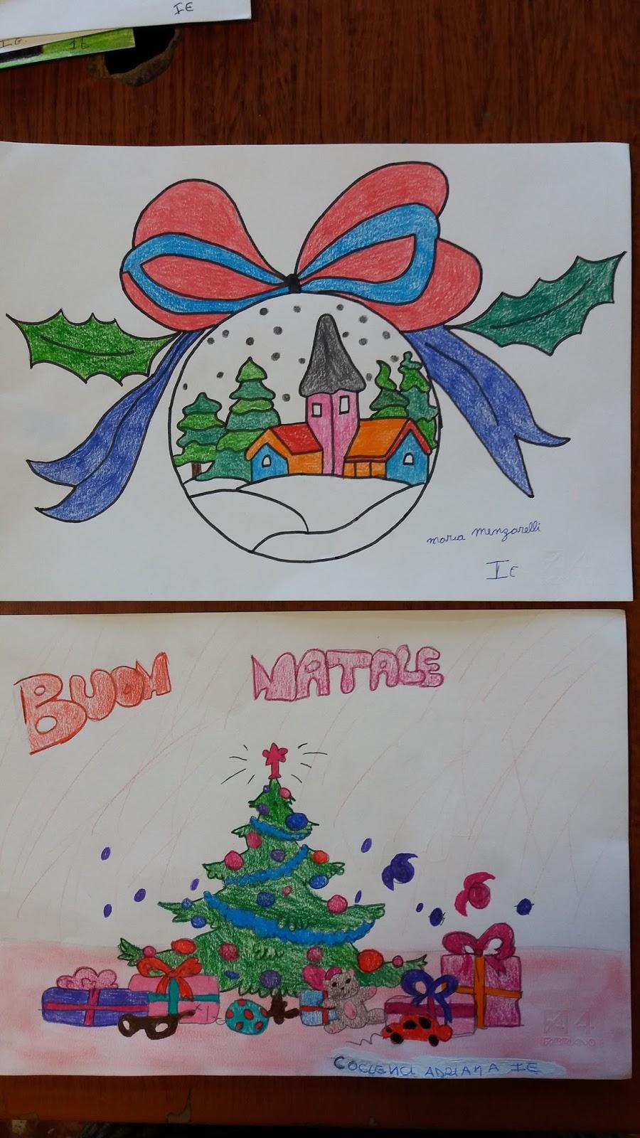 Amato due ore di arte: Natale 2015. La mostra dei disegni degli alunni CC53