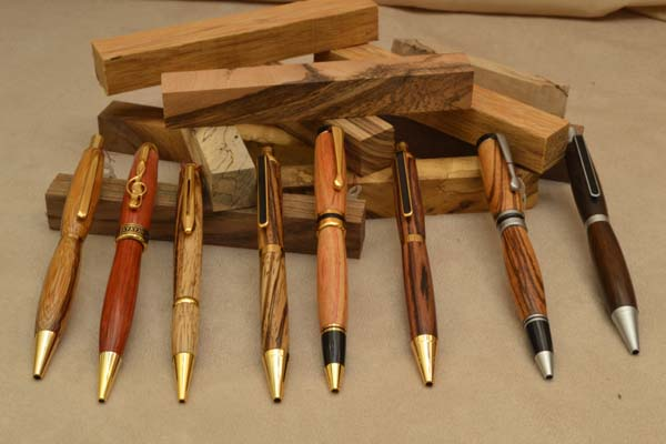 Bút gỗ cấp cao khắc laser