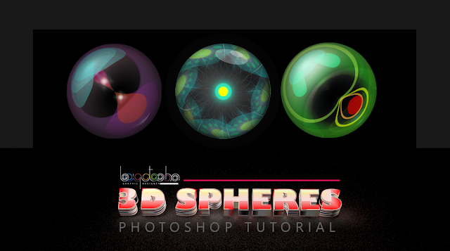 3d sphere in photoshop