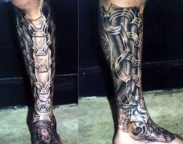 Tattoo art: Cyborg Tattoos photos