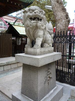 天神社狛犬