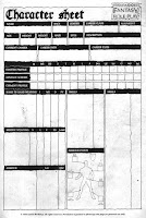 WFRP 1st edition original character sheet