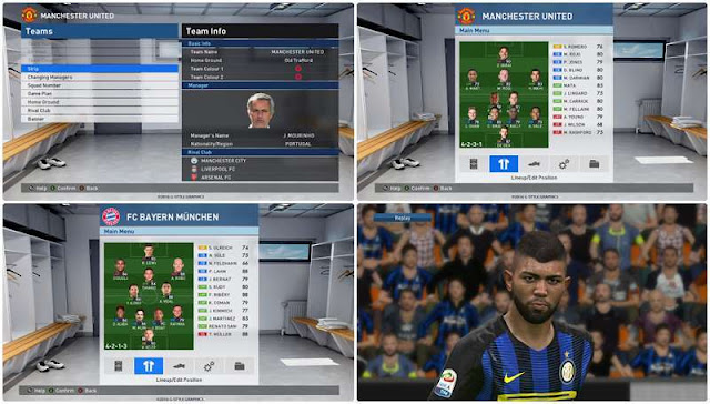 Option File PES 2017 untuk PTE 5.1 update 22-04-2017
