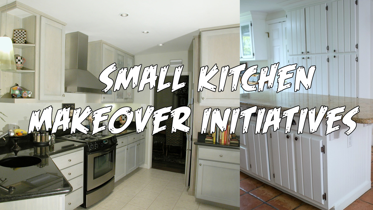 Small Kitchen Makeover Initiatives