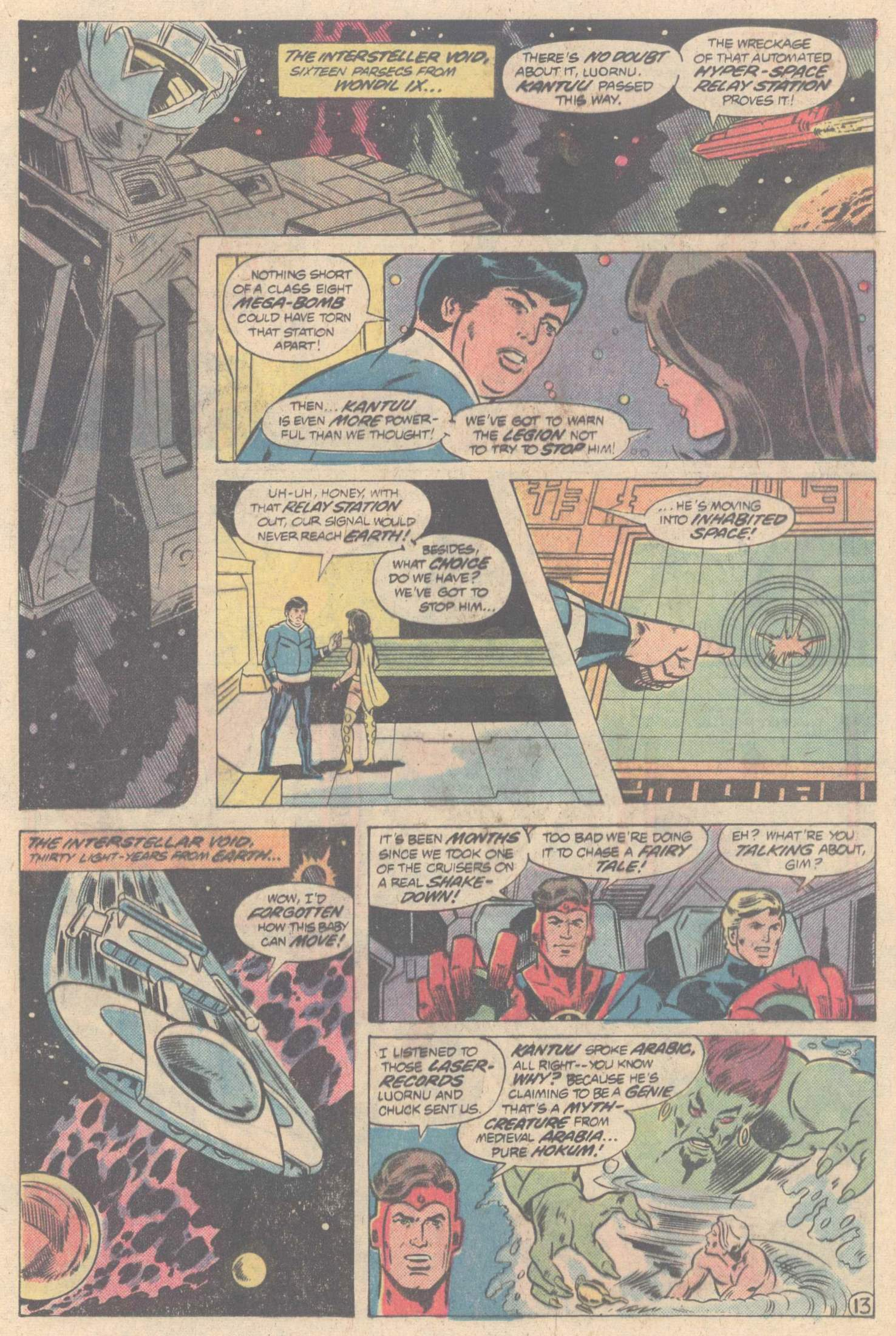 Legion of Super-Heroes (1980) 266 Page 23