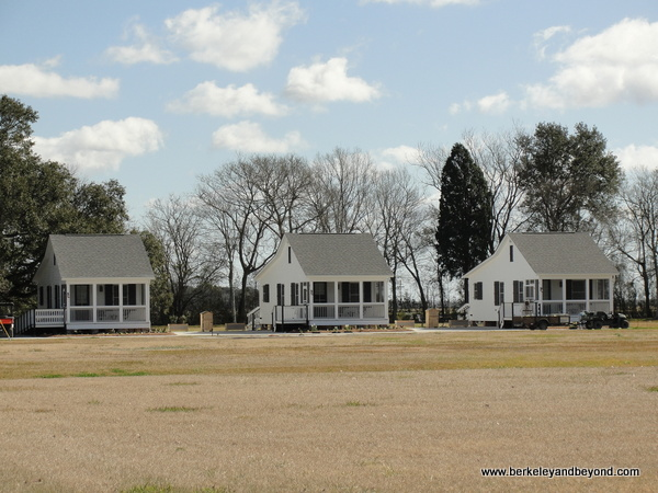 guest cottages at Oak Alley Plantation in Vacherie, Louisiana
