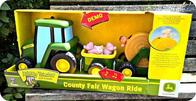 Farmyard Fun with the TOMY John Deere County Fair Wagon