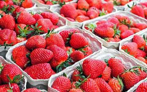 cara menghilangkan komedo secara alami dan cepat dengan strawberry