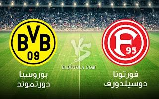 مشاهدة مباراة بوروسيا دورتموند وفورتونا دوسلدورف بث مباشر بتاريخ 18-12-2018 الدوري الالماني
