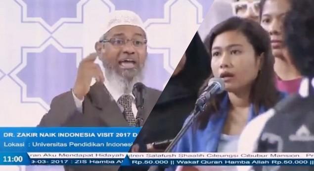 Makjleb, Jawaban Zakir Naik Untuk Ahoker: Perintah Memilih Pemimpin Muslim Ditujukan Khusus Bagi Muslim Yang Percaya Al-Quran!