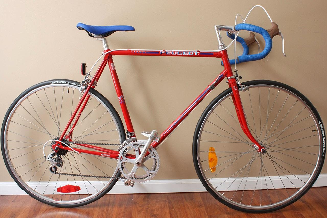john's bicycle restorations: 1983 peugeot vitesses pb-14