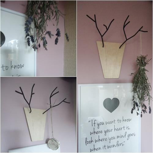 rógi jelenia diy, dekoracja