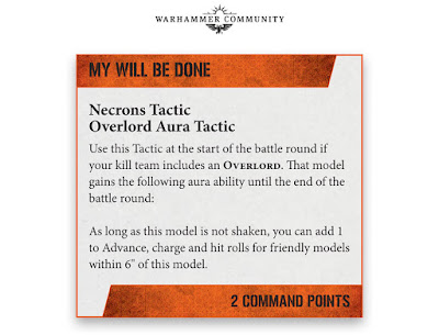 Tácticas Kill Team Necrones