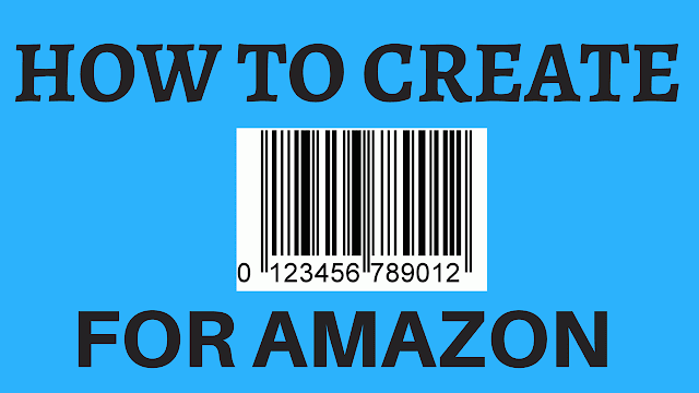 how to create upc code for amazon
