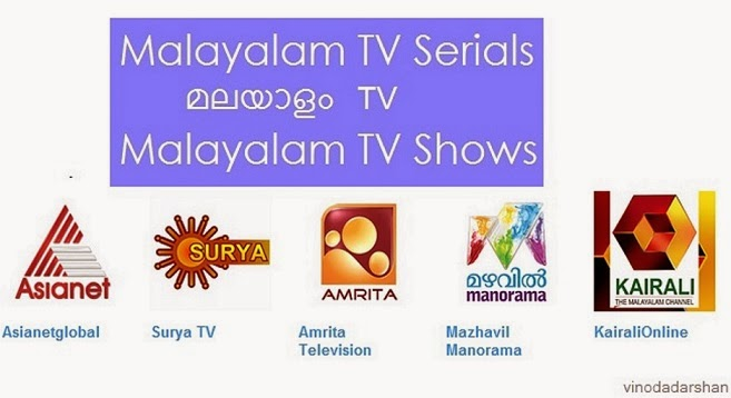 Malayalam TV Serials and TV Shows -Official Youtube Channels of Malayalam Television Channels
