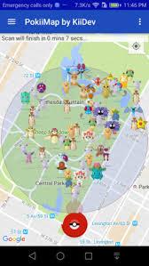 PokiiMap v1.1.1 Apk – A working Pokemon Map Scanner