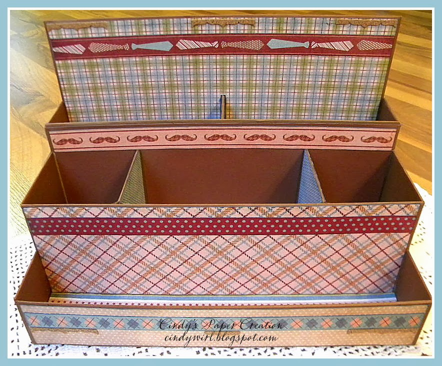 chipboard desk organizer