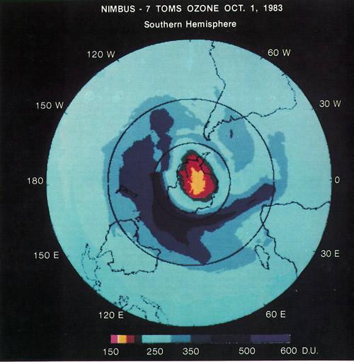 Alert on ozone layer