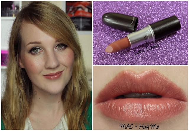 Mac Hug Me Lipstick On Dark Skin