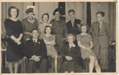 Het gezin Bosman in 1947