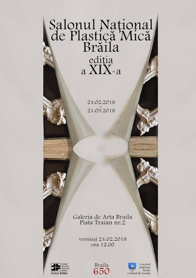 Vernisajul Salonului Național de Plastică Mică Brăila, ediția a XlX-a