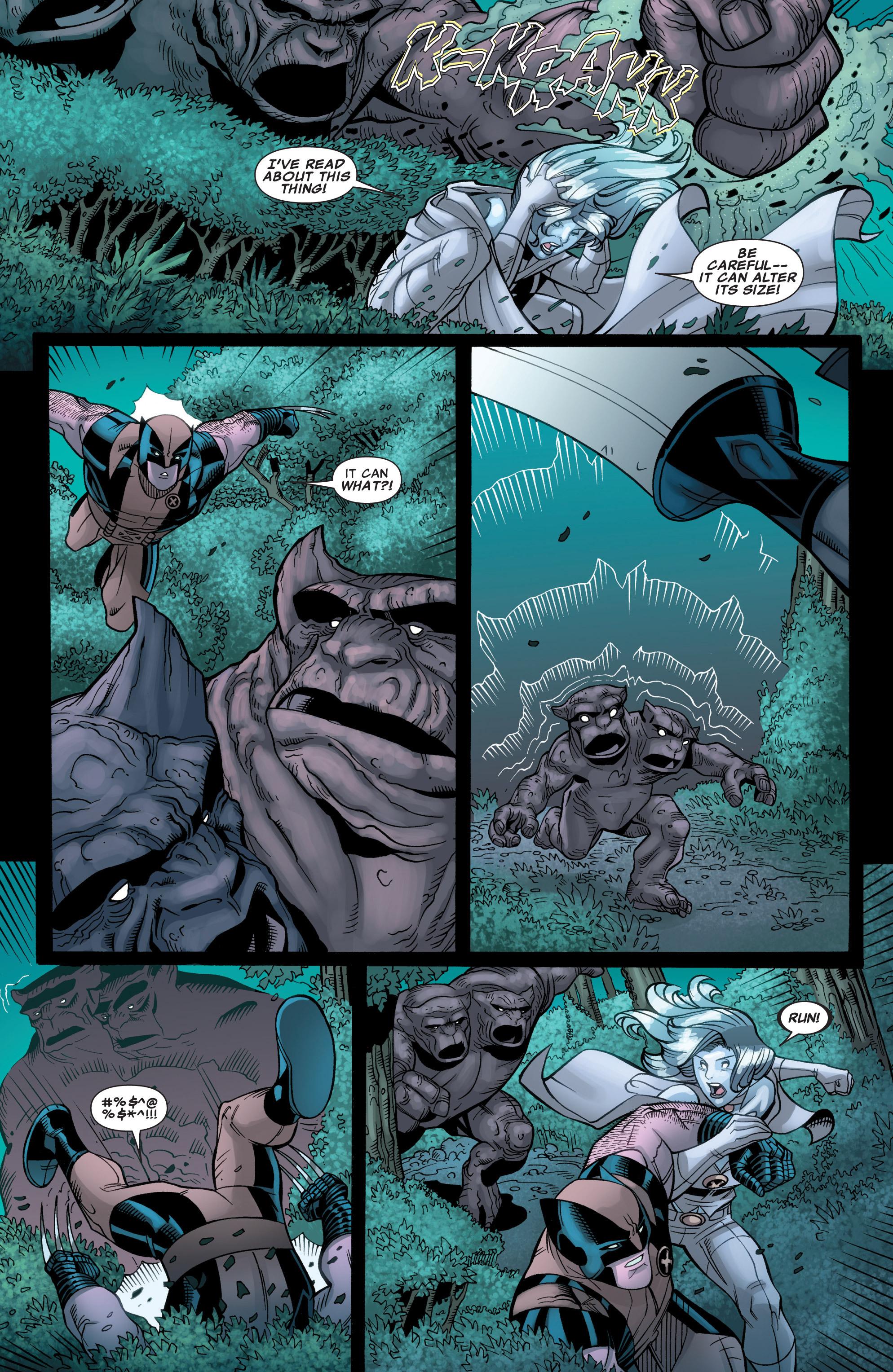 Read online Astonishing X-Men (2004) comic -  Issue #39 - 21