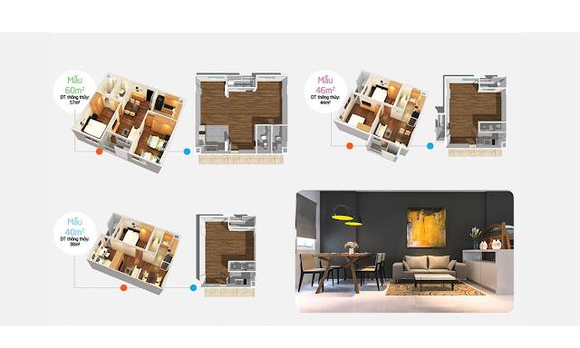 Nhà mẫu căn hộ Ehome S