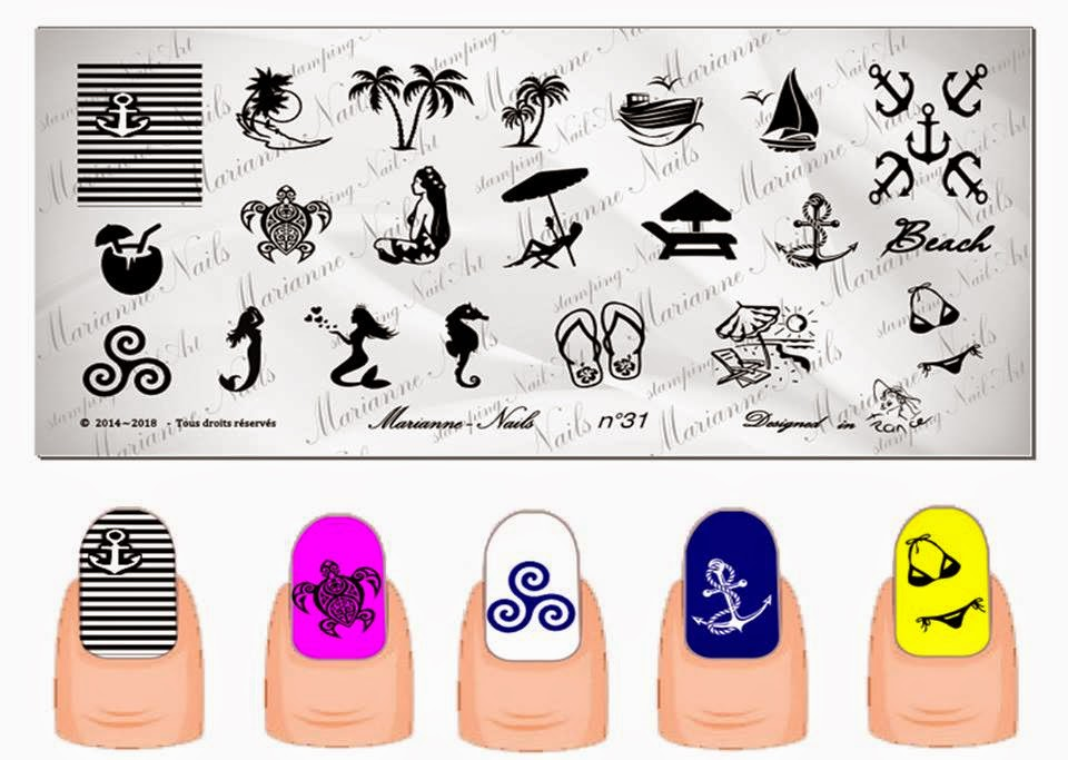 Lacquer Lockdown - Marianne Nails Nail Art Stamping Plates, Marianne nail art plates, marinane stamping plates, nail art, nail art stamping blog, new nail art stamping plates 2014, new nail art image plates 2014, new nail art plates 2014, stamping, new nail plates 2014, diy nail art, cute nail art ideas, new nail art ideas,nail art