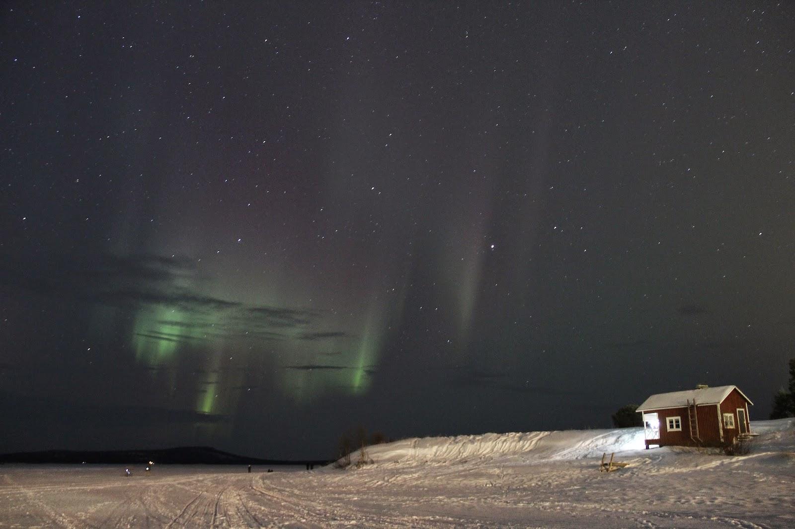 Northern Light Inari Finland