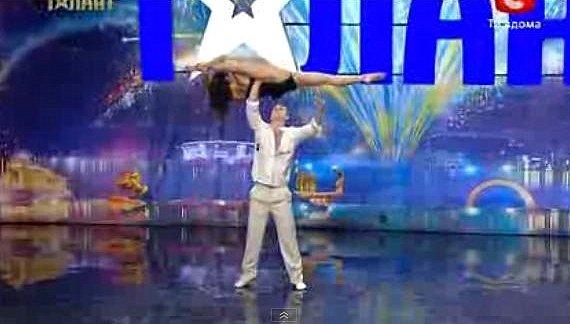 Ukraine Talent Show Dancing Couple