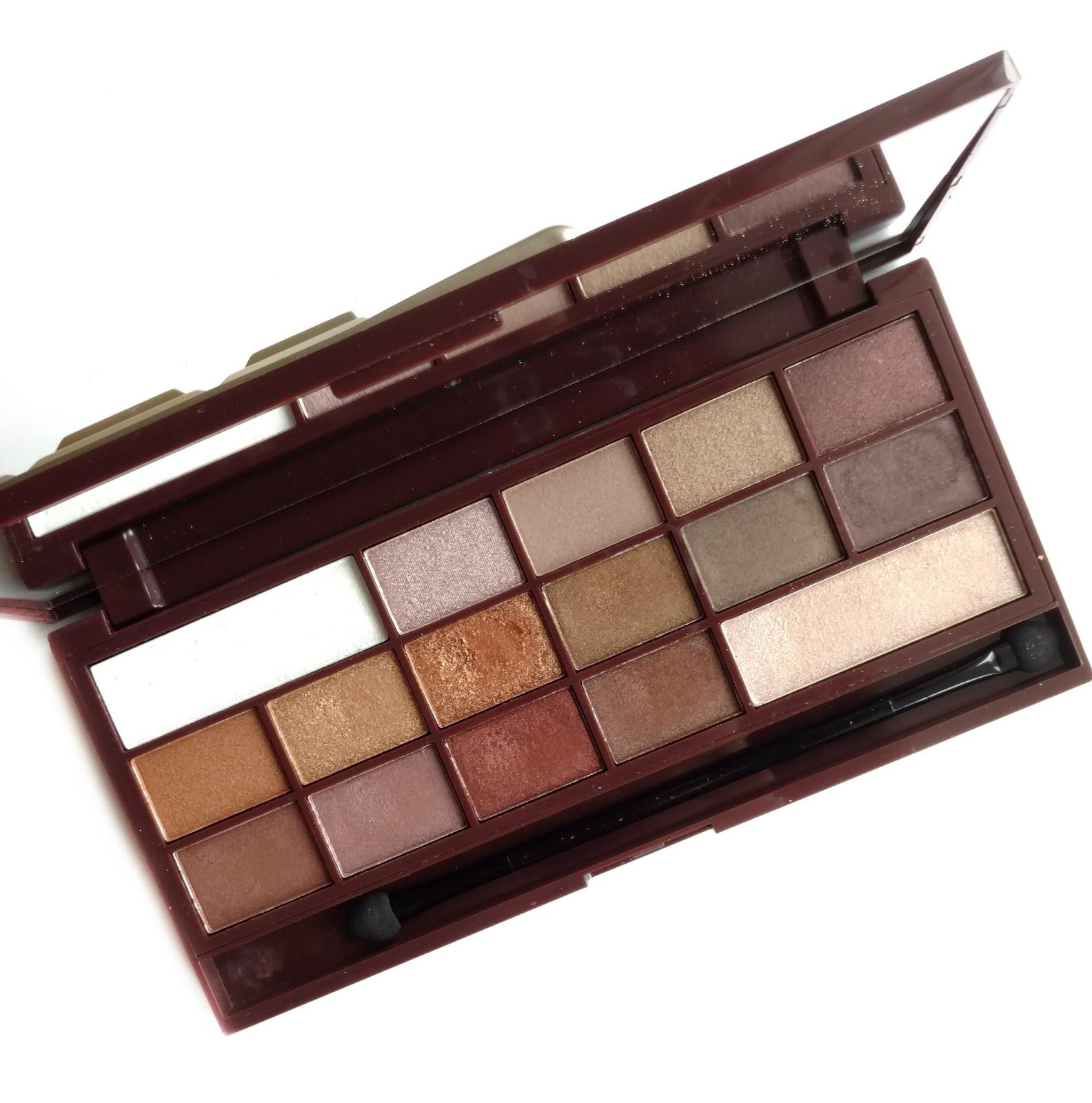 makeup revolution golden bar palette
