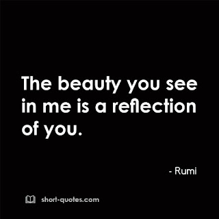beauty you see rumi