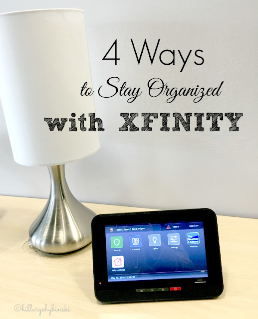 4 Ways to Stay Organized with Xfinity