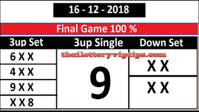 Thailand lottery sure winning number in Saudi Arabia 16 December 2018