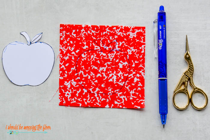 Apple Pattern Printable