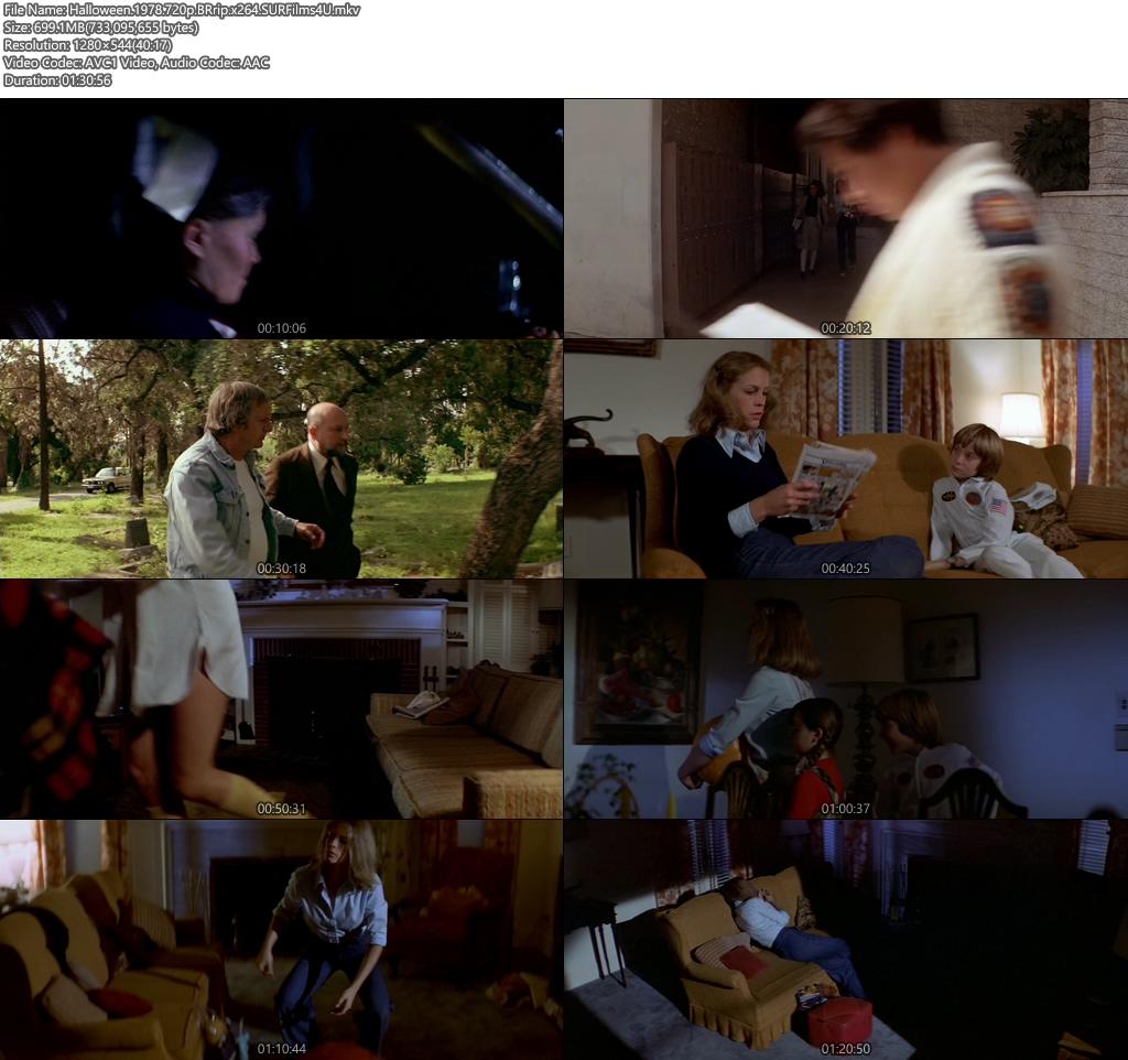 Halloween 1978 720p BRrip 700MB x264 Screenshot