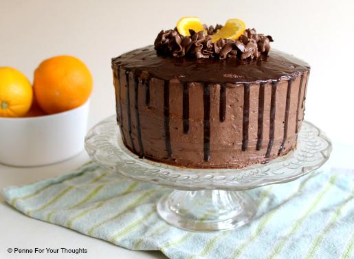 Chocolate Orange Showstopper Cake