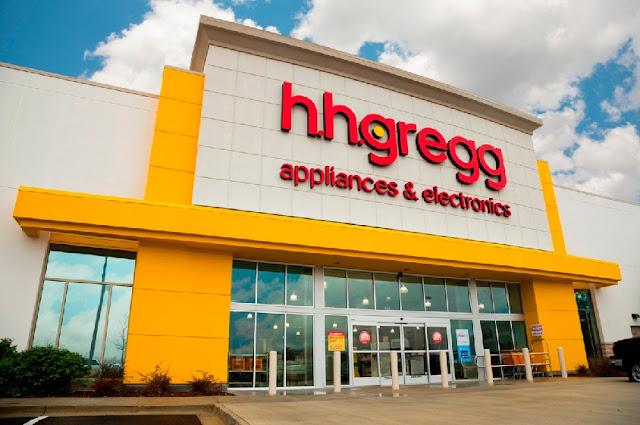 Loja Hhgregg de produtos eletrônicos em Miami e Orlando