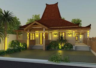 Rumah Joglo Modern 3