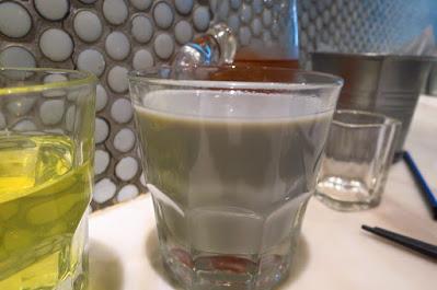 Social Place, black soya milk
