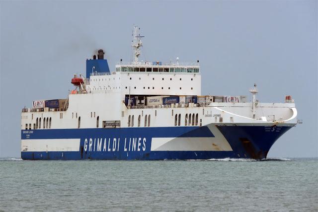 Eurocargo Livorno, IMO 9471070, port of Livorno