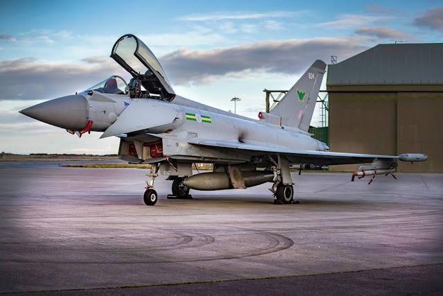 Fourth Typhoon Squadron RAF Lossiemouth